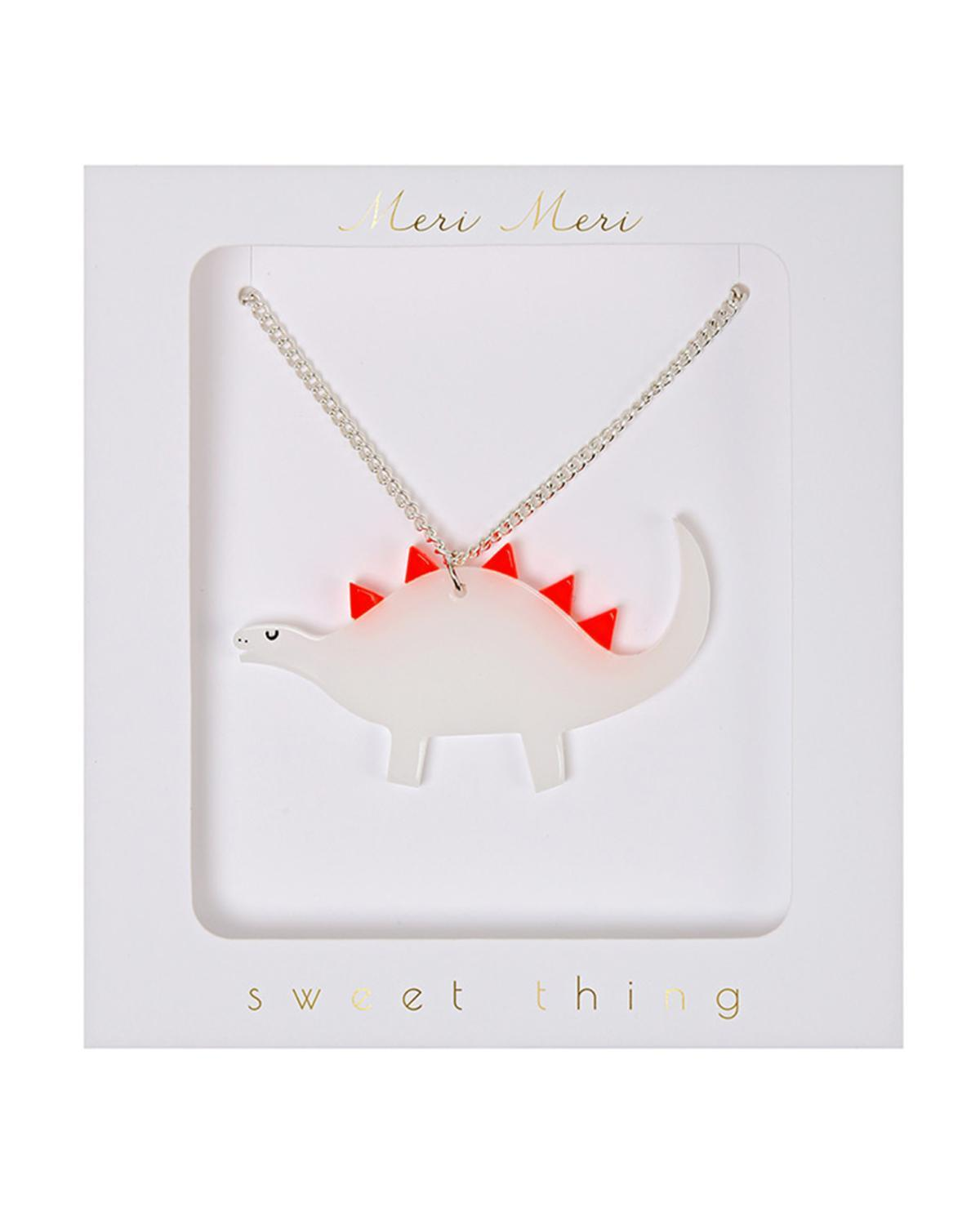Little meri meri accessories Dinosaur Necklace