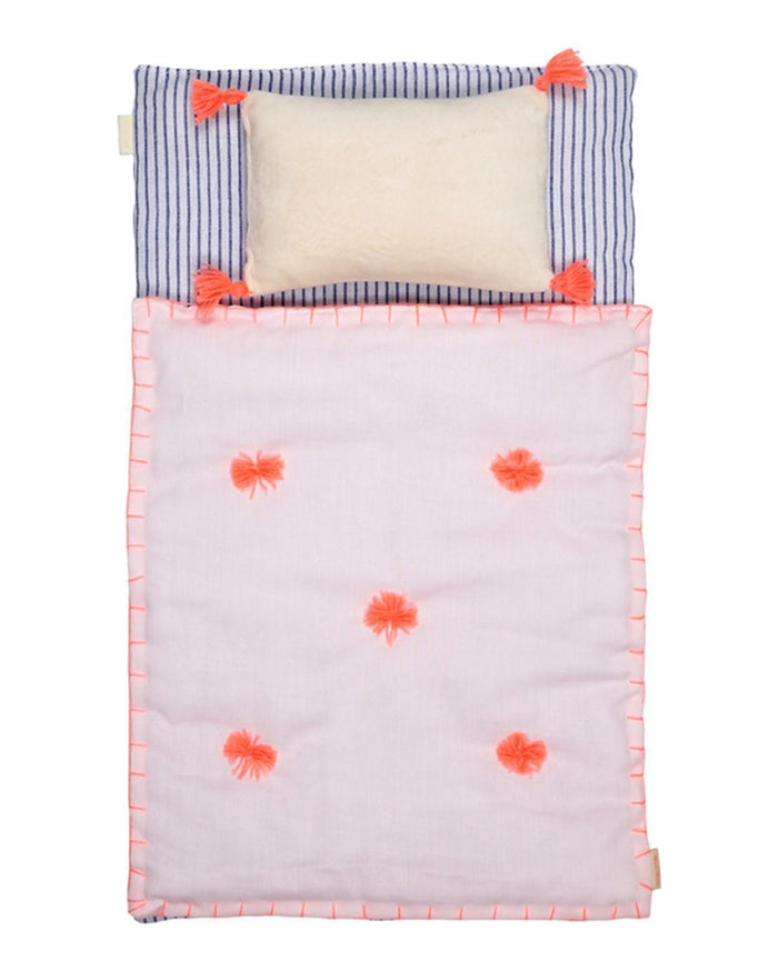 Little meri meri play doll bedding