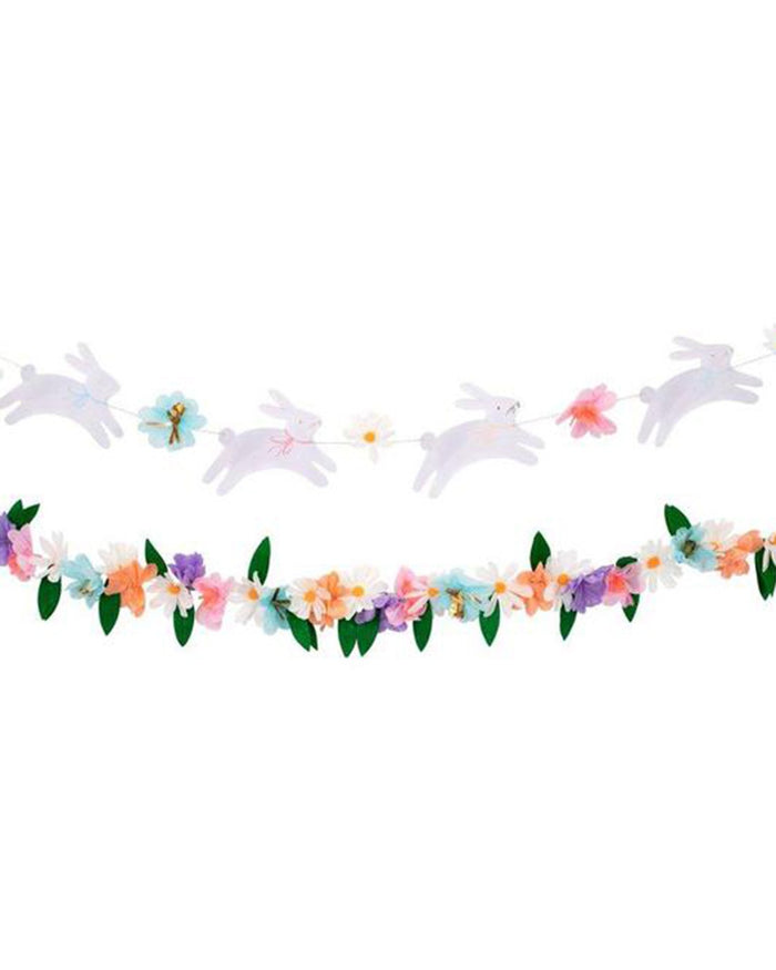 Little meri meri paper + party easter bunny garland