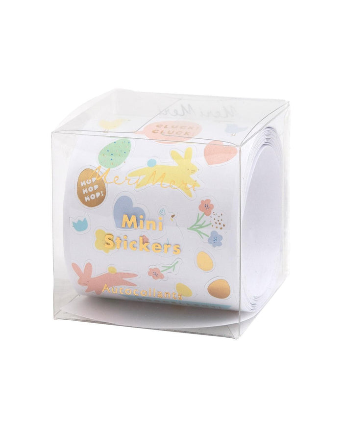 Little meri meri paper+party easter mini sticker roll