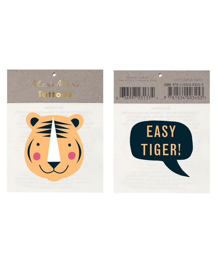 Little meri meri paper+party Easy Tiger Tattoos
