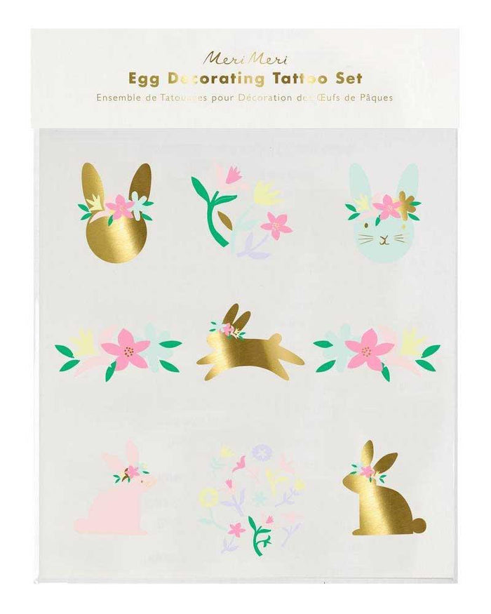 Little meri meri play egg decorating tattoo kit