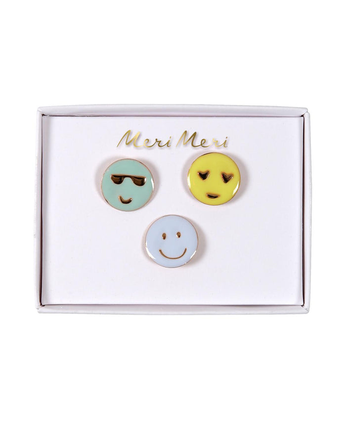 Little meri meri accessories Emoji Pins