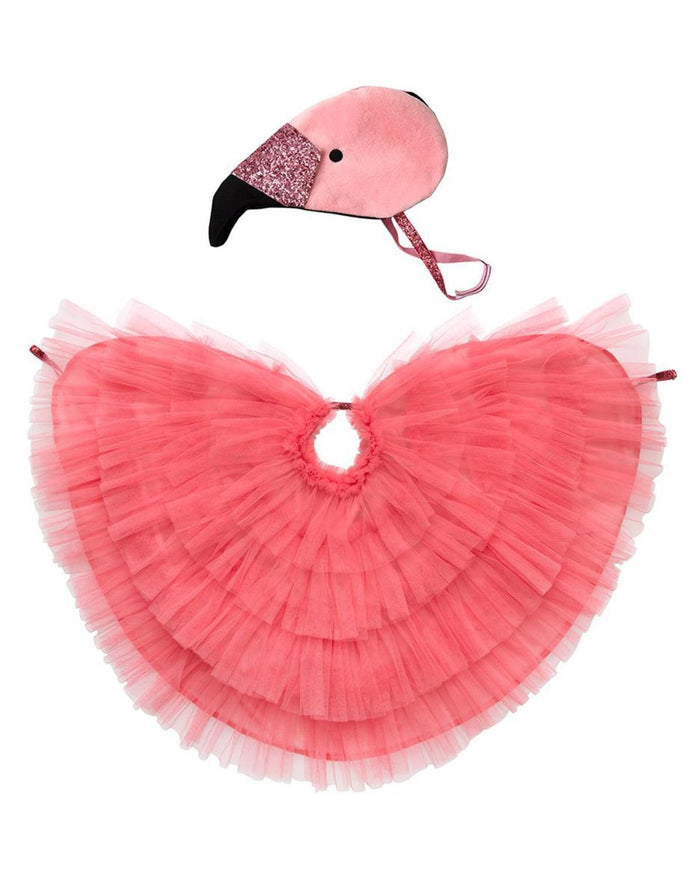 Little meri meri play flamingo cape dress up
