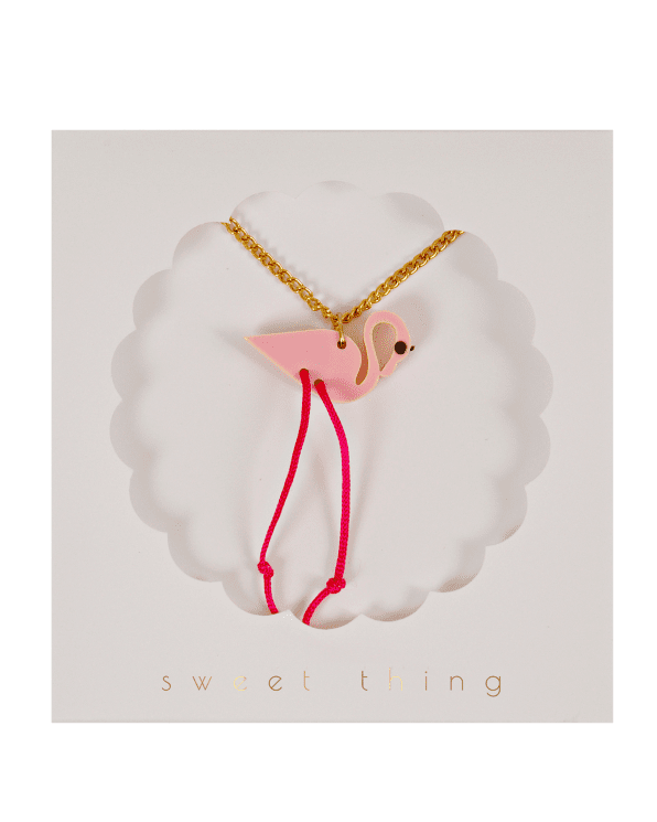 Little meri meri accessories Flamingo Necklace