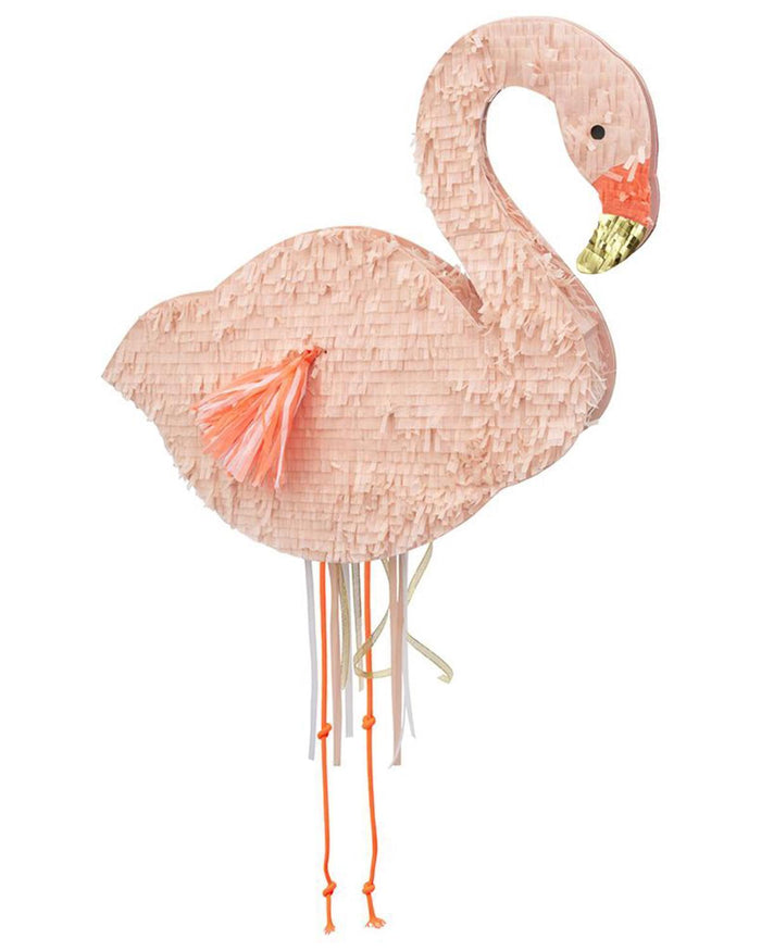 Little meri meri paper+party flamingo party piñata