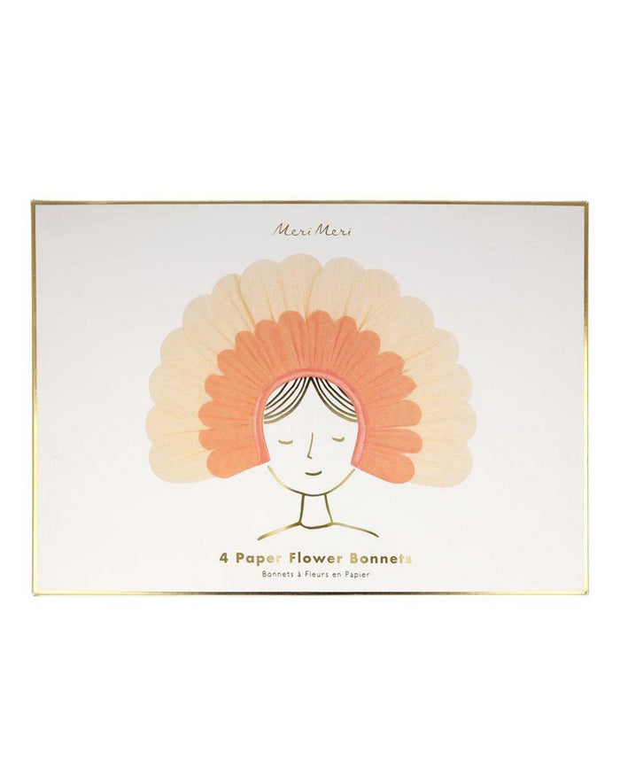 Little meri meri paper+party flower paper bonnets