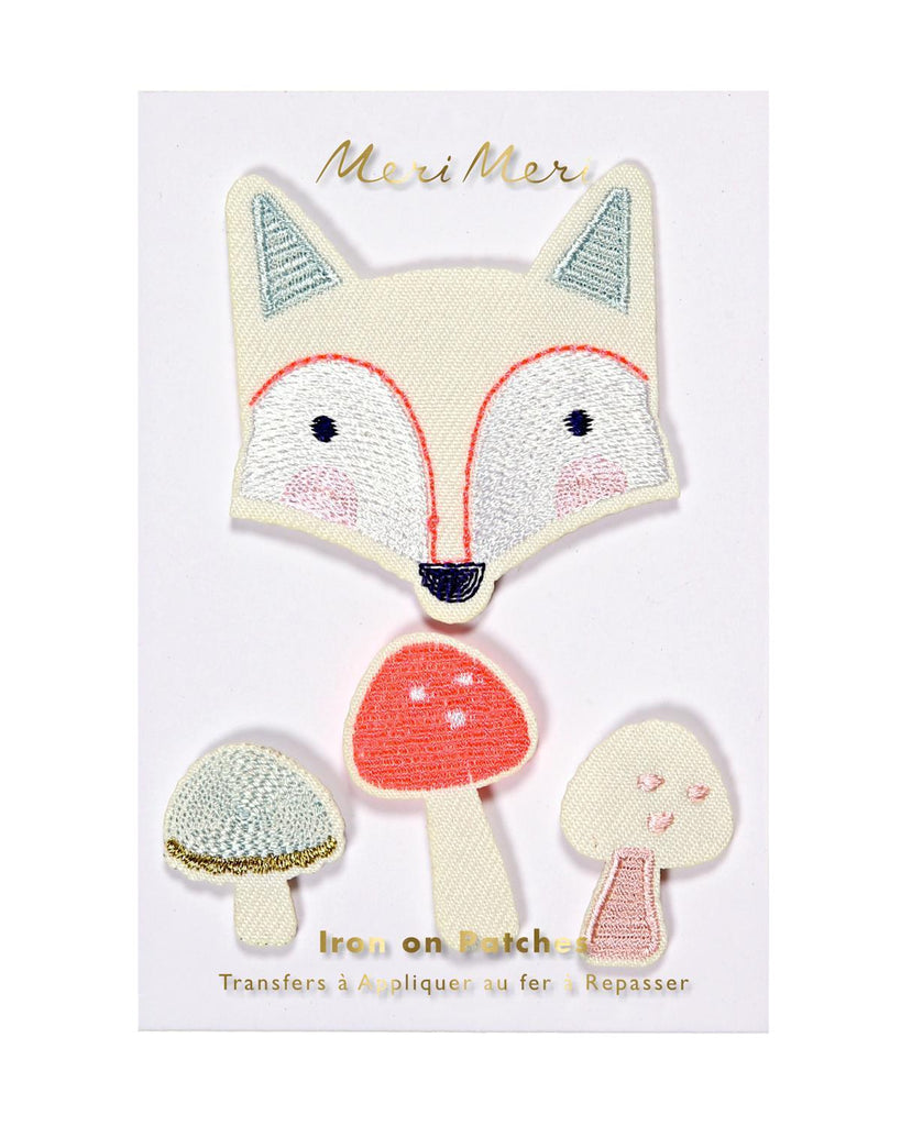 Little meri meri accessories Fox Patches