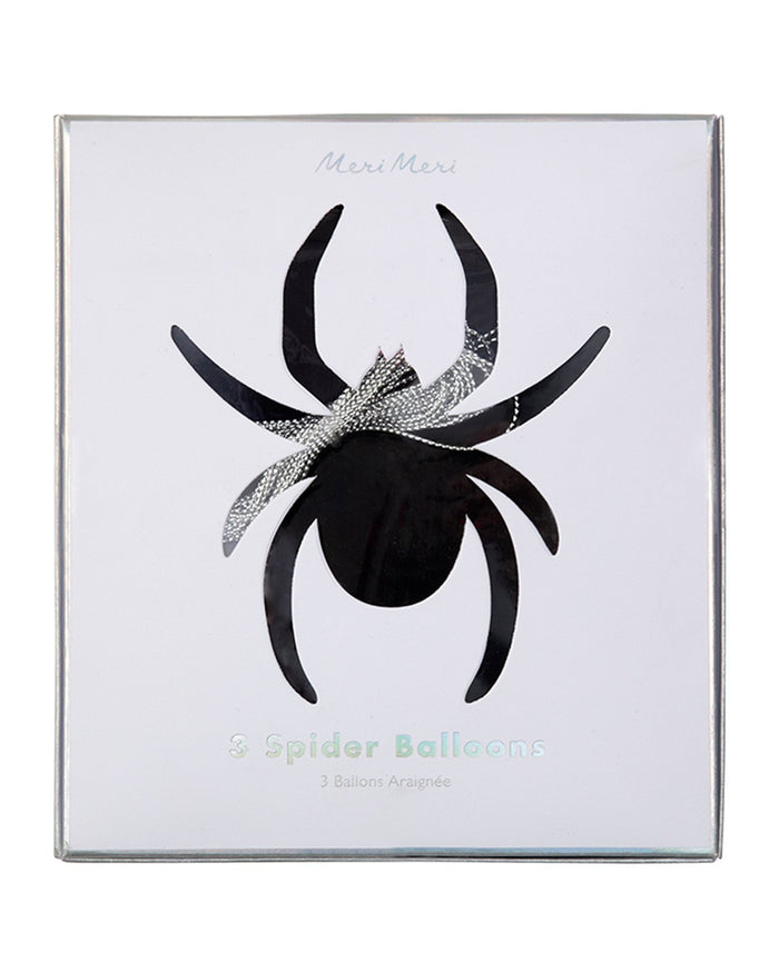 Little meri meri paper+party giant spider balloons