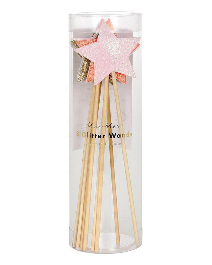 Little meri meri paper+party glitter wands
