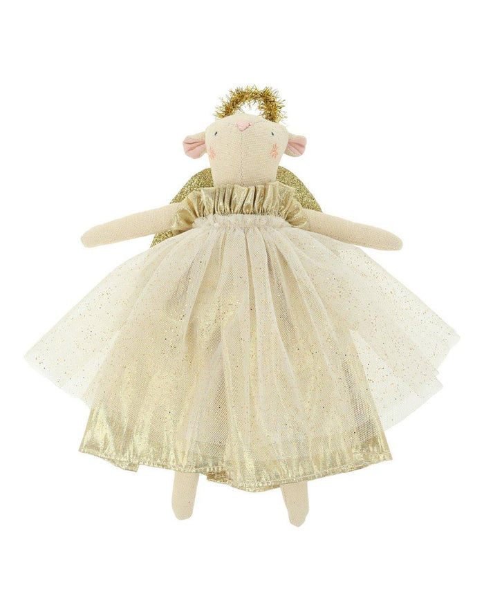 Little meri meri room gold angel mouse tree topper