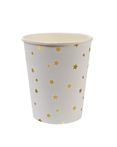 Little meri meri paper+party Gold Star Party Cups