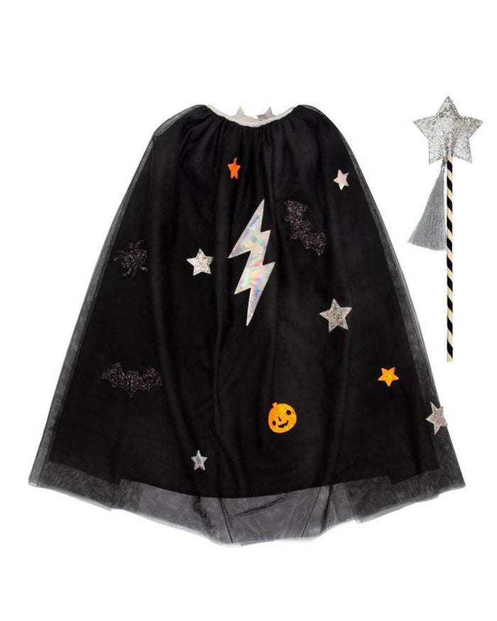 Little meri meri play halloween cape dress up