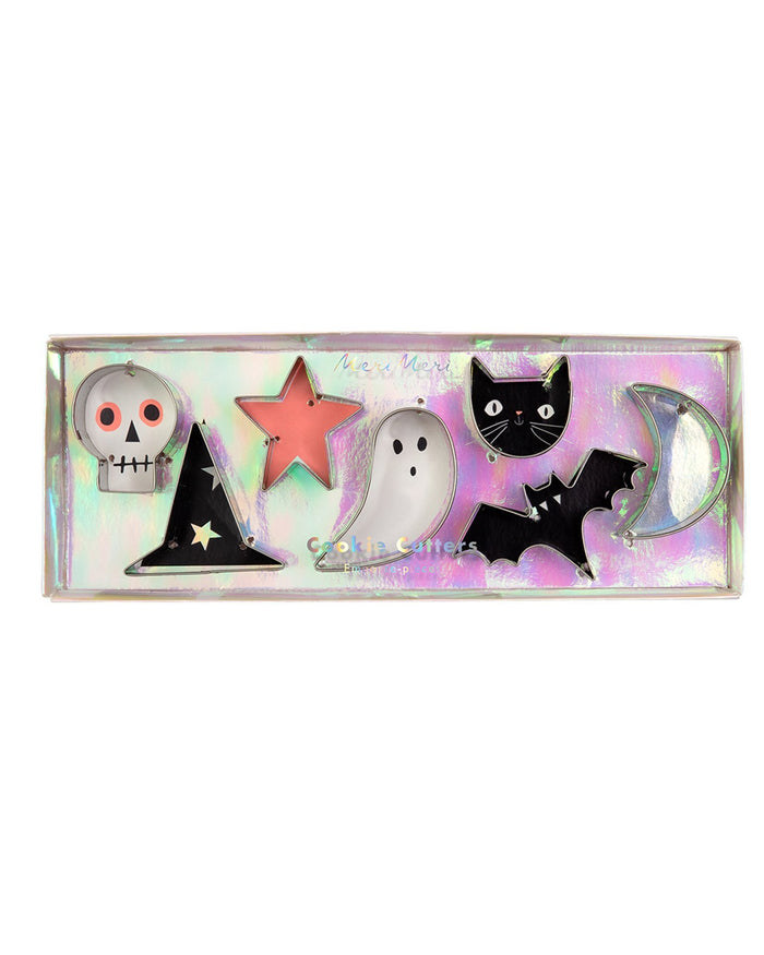 Little meri meri paper+party halloween icons mini cookie cutters