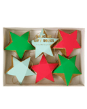 Little meri meri paper+party Hanging Star Treat Boxes