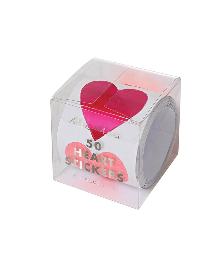 Little meri meri paper+party Heart Sticker Roll