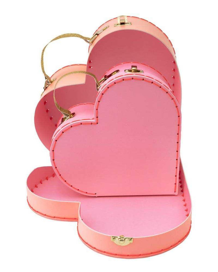 Little meri meri room heart suitcases
