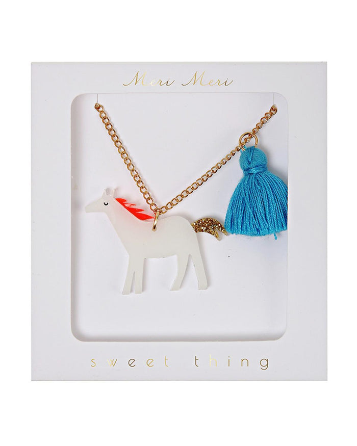 Little meri meri accessories Horse Tassel Necklace