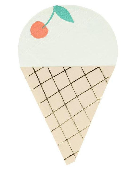 Little meri meri paper+party ice cream napkins
