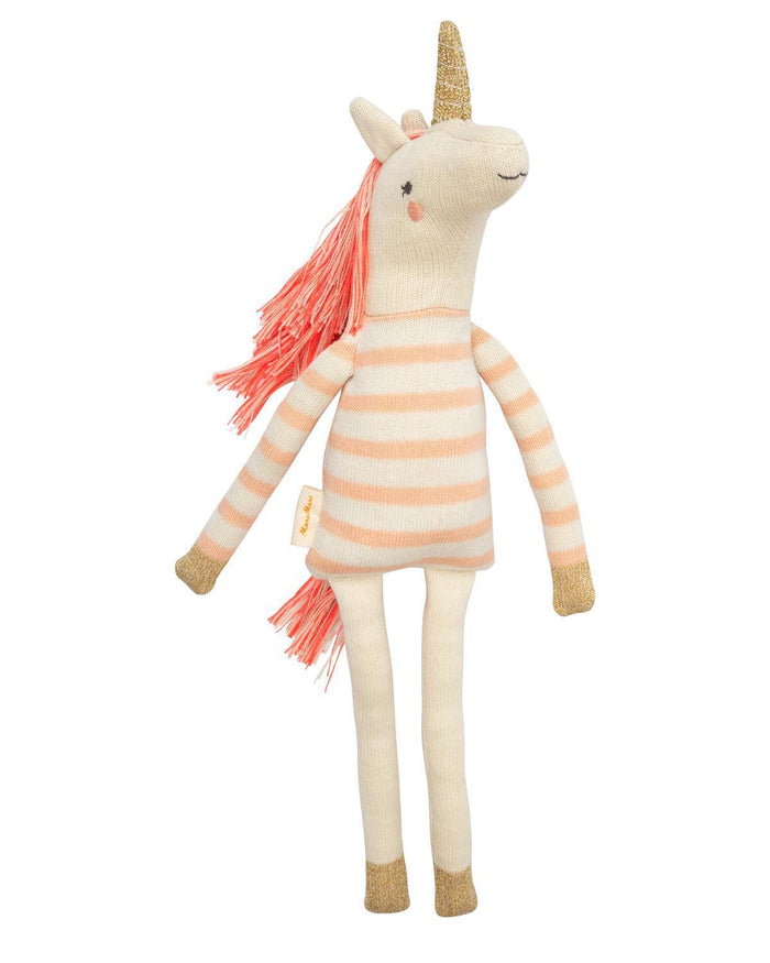 Little meri meri play izzy unicorn toy