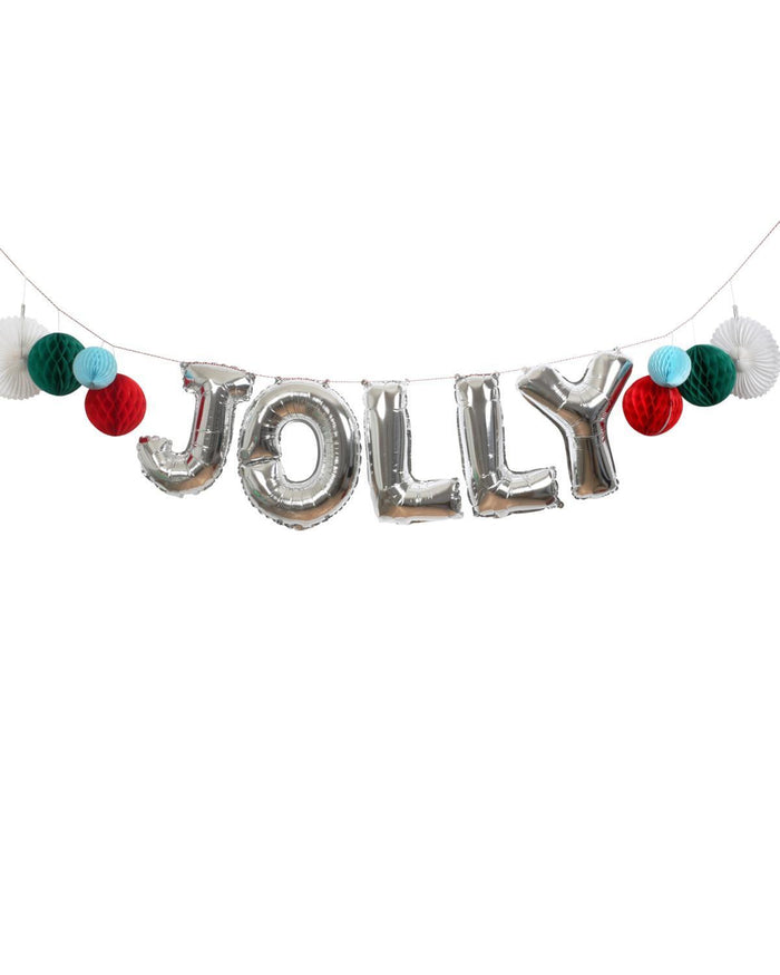 Little meri meri paper+party Jolly Balloon Garland Kit