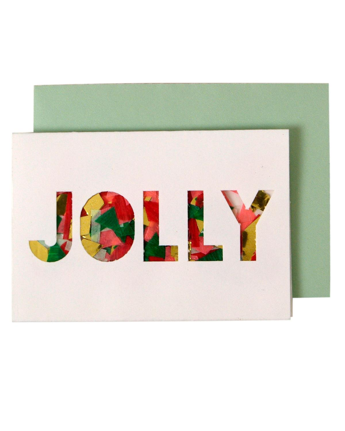 Little meri meri paper+party Jolly Mini Card