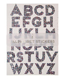 Little meri meri paper+party Large Alphabet Stickers
