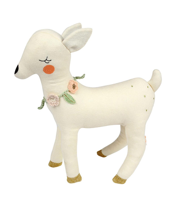 Little meri meri play large knit deer
