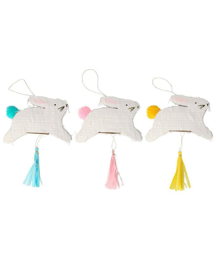 Little meri meri paper + party leaping bunny piñata favours