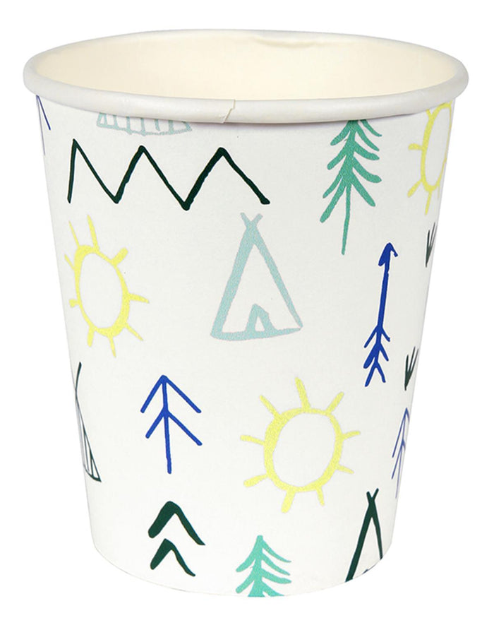 Little meri meri paper+party Let's Explore Party Cups