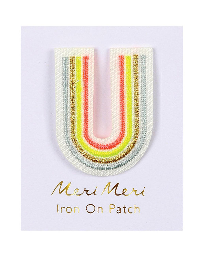 Little meri meri accessories letter u patch