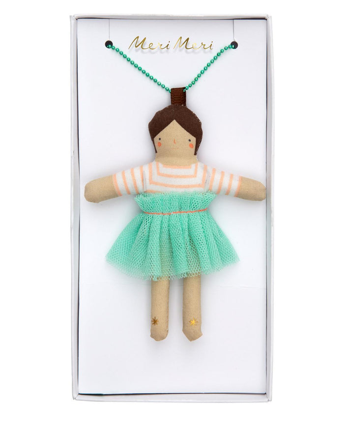 Little meri meri accessories lila doll necklace