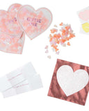 Little meri meri paper+party love heart shaker favors