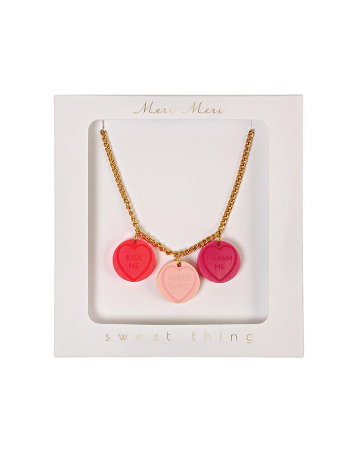 Little meri meri accessories Love Hearts Necklace