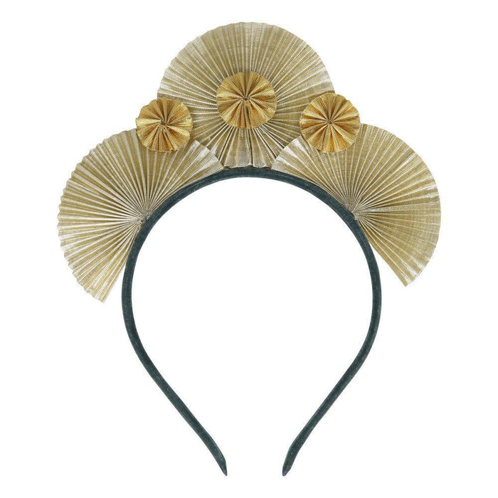 Little meri meri play metallic fan headband