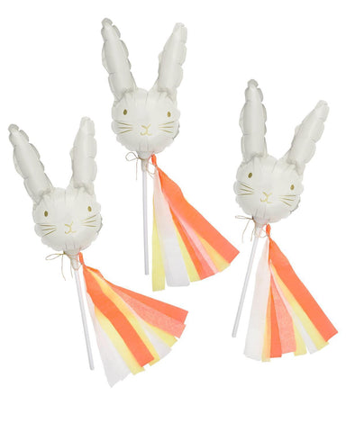 Little meri meri paper+party mini bunny balloons