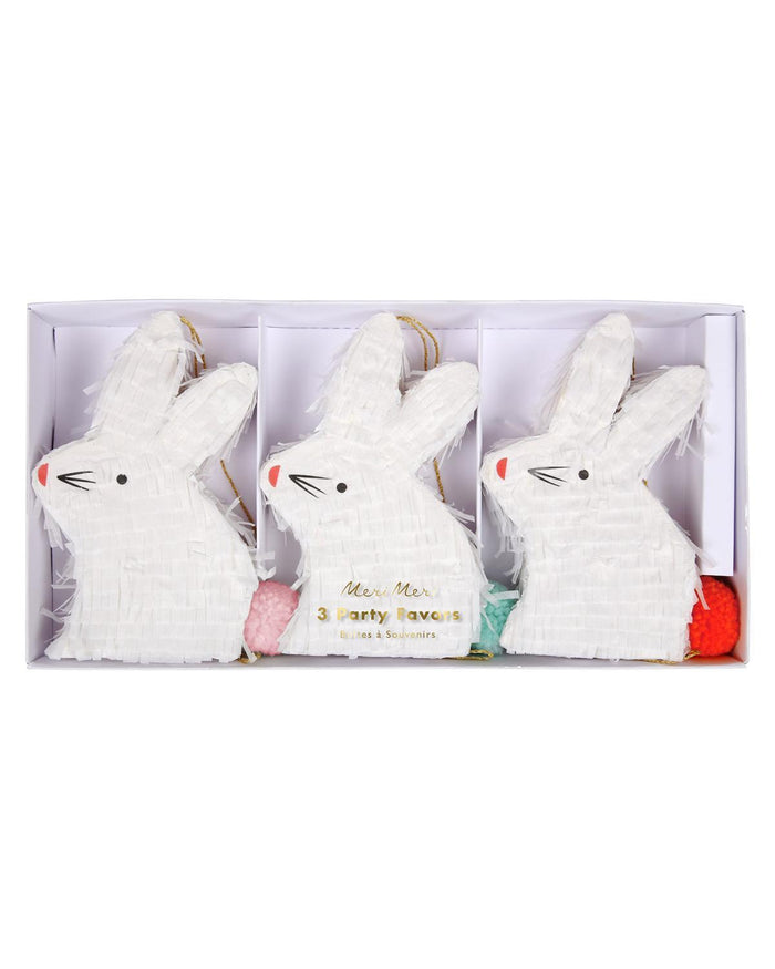 Little meri meri paper+party mini bunny favor piñatas