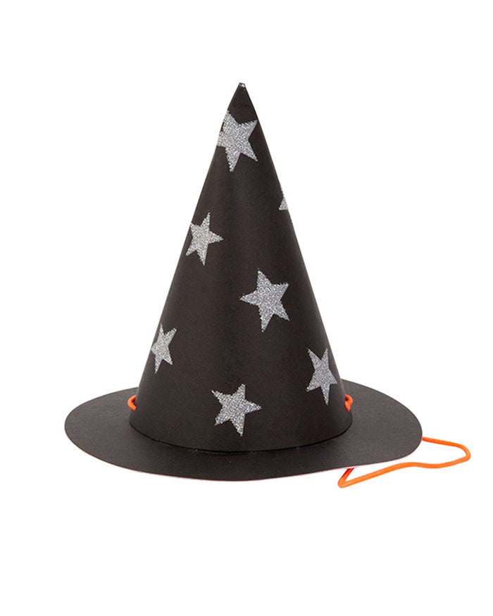 Little meri meri paper+party mini star witch hats