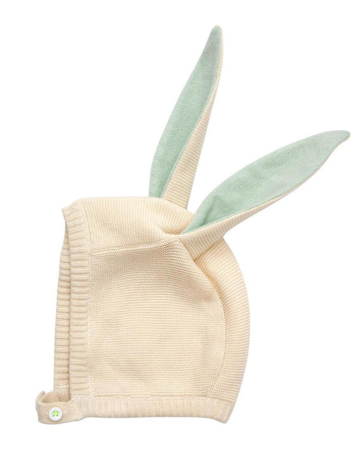 Little meri meri baby accessories mint baby bunny hat
