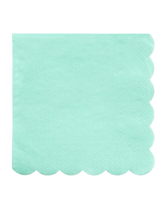 Little meri meri paper+party mint small napkin