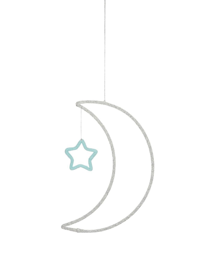 Little meri meri room moon wall decoration