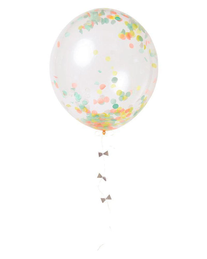 Little meri meri paper+party neon confetti balloon kit