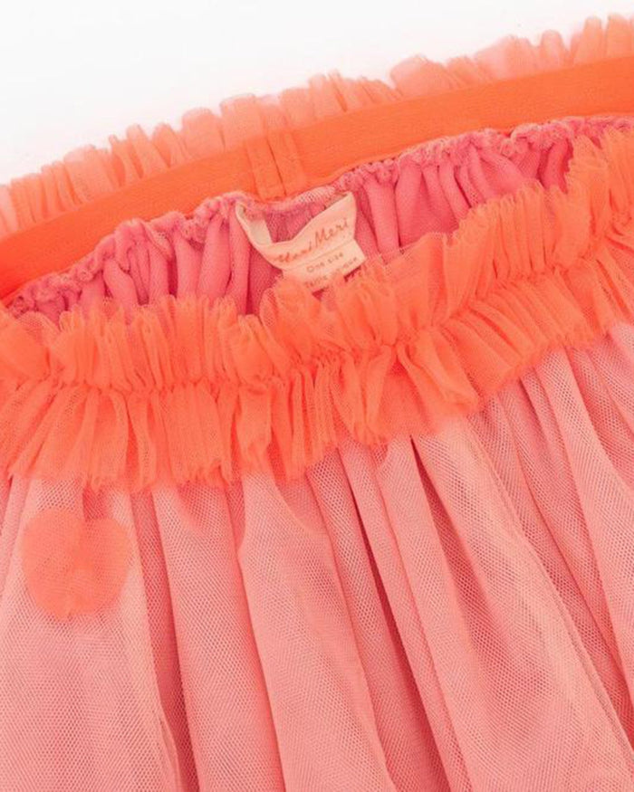 Little meri meri play neon heart tulle tutu