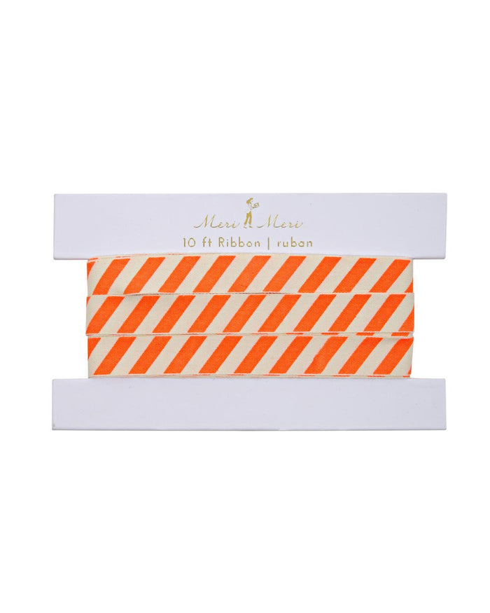 Little meri meri paper+party Neon Striped Gift Ribbon