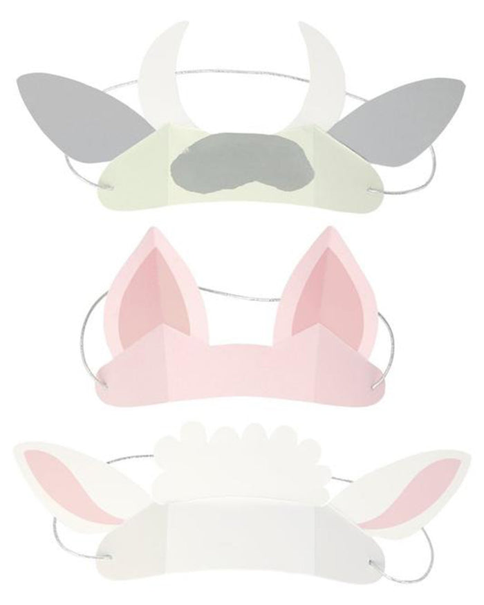 Little meri meri paper+party on the farm animal ears