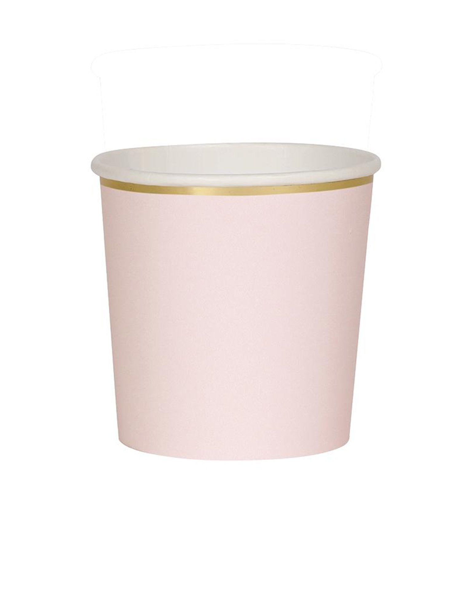 Little meri meri paper+party pale pink tumblers
