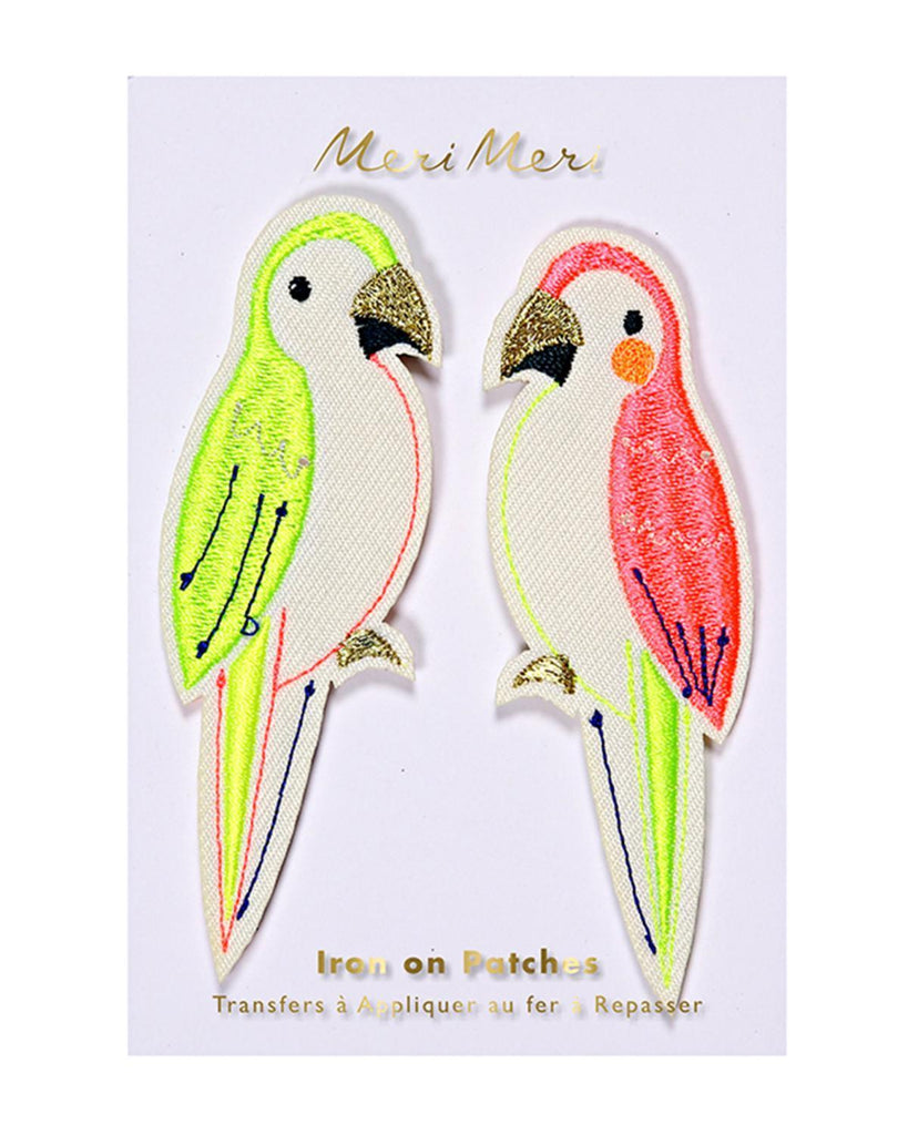 Little meri meri accessories Parrots Patches