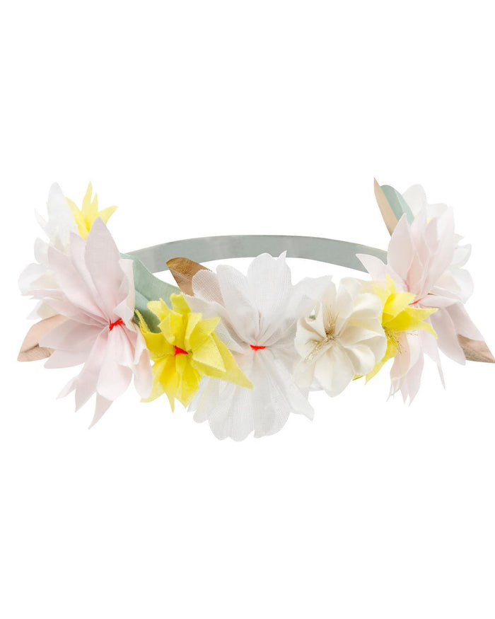 Little meri meri accessories pastel blossom fabric headband