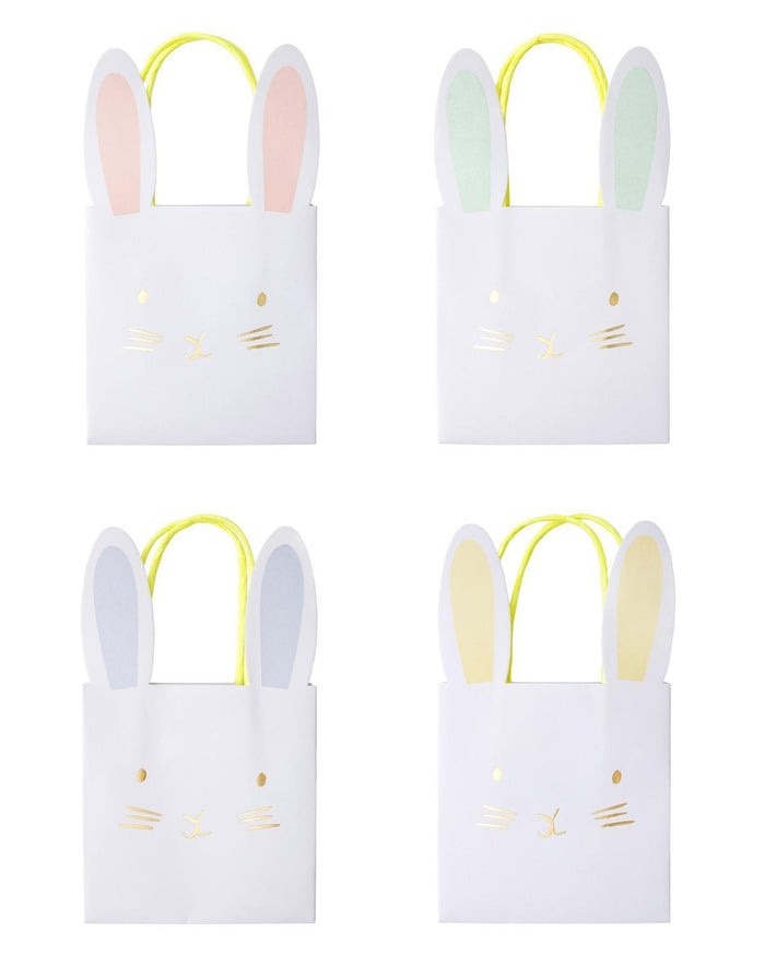 Little meri meri paper+party pastel bunny party bags