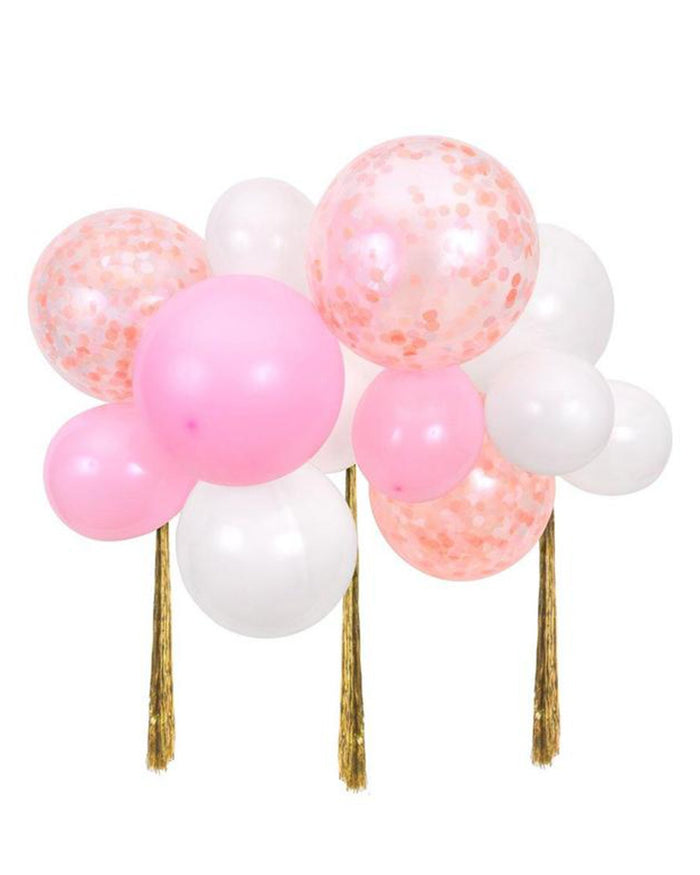 Little meri meri paper+party pink balloon cloud kit